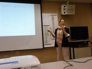 講師の東北芸術工科大学准教授、早野由美恵さん